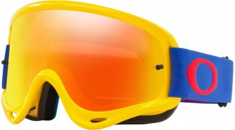 Oakley O-Frame MX Goggle yellow blue/fire iridium