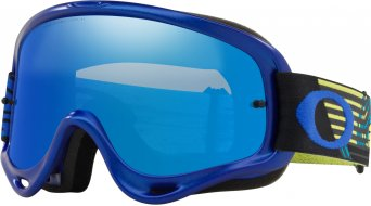 Oakley O-Frame MX Goggle circuit yellow blue/black ice iridium