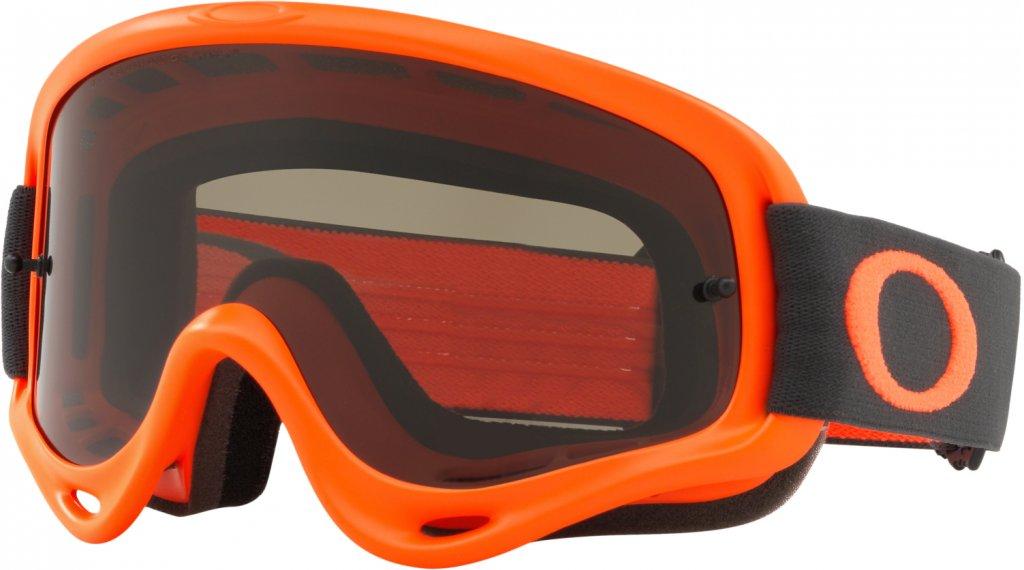 Oakley O-Frame MX Goggle gunmetal 橙色/dark grey