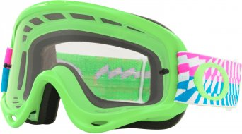 Oakley O-Frame MX Goggle braking bumps pink green/clear
