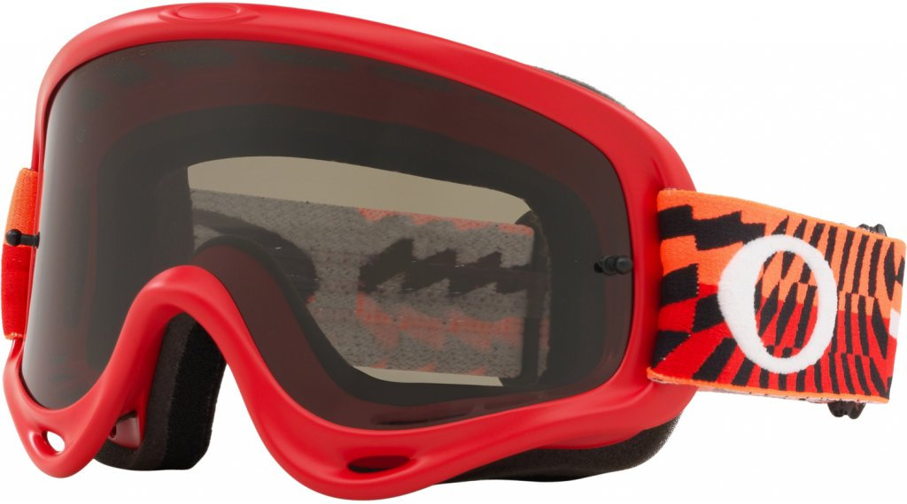 Oakley O-Frame MX Goggle braking bumps red 橙色/dark grey