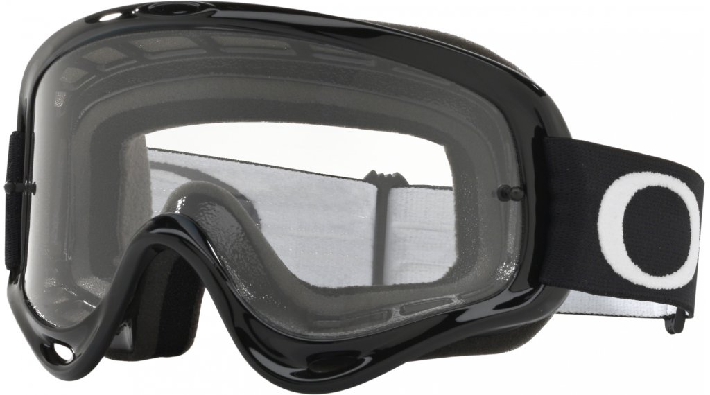 Oakley O-Frame MX Goggle jet black/clear