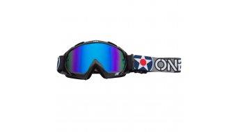 ONeal B-10 Warhawk Goggle - radium blue Lins