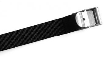 Ortlieb metal buckle Spann belt black
