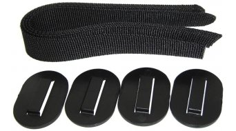 Thule 带子kit (含有4 带子 和 Gummipads) 适用于 Thule 货架