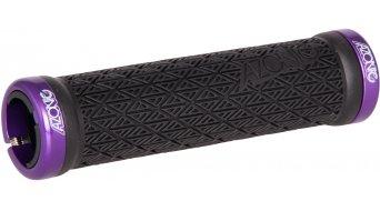 Azonic Logo Lock On puños adherencia-negro-Clamp-purple Mod. 2016