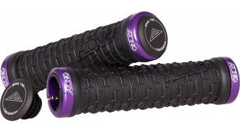 Azonic Razor Wire Lock On poignée Grip-black-Clamp-violet Mod. 2016