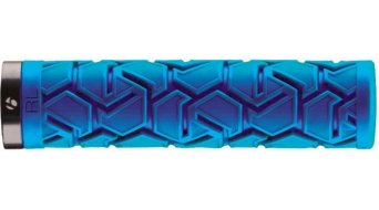 Bontrager Race Lite LockOn Griffe Grip-blue-Clamp-black