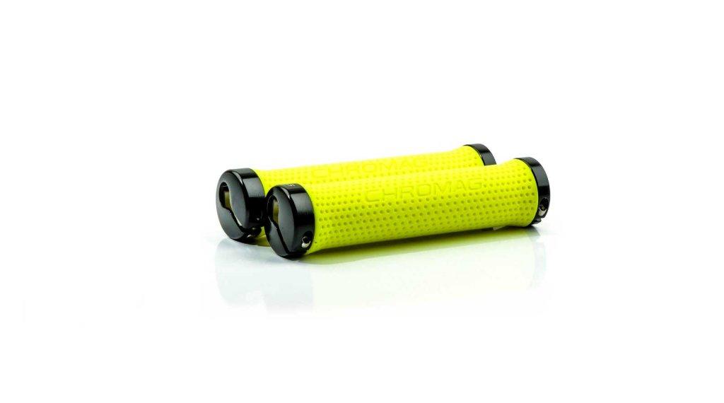 Chromag Basis Lock-On Griffe neon yellow