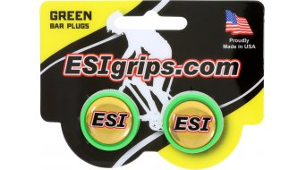ESI Bar Plugs Lenkerendstopfen green