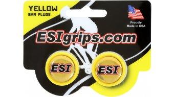 ESI Bar Plugs Lenkerendstopfen yellow