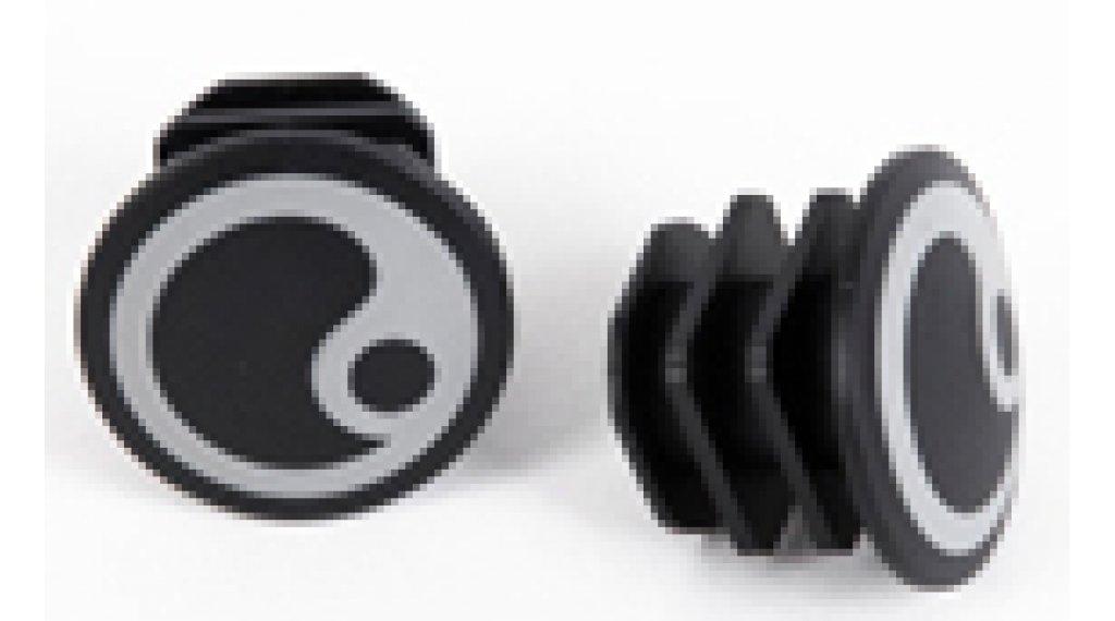 Ergon Endstopfen für GP1/GP1 BioKork Logo silver