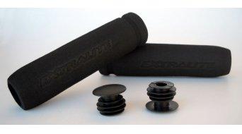 Extralite HyperGrips ergonomische Lenkergriffe schwarz 7,8g/Griff (inkl. Lenkerendstopfen)