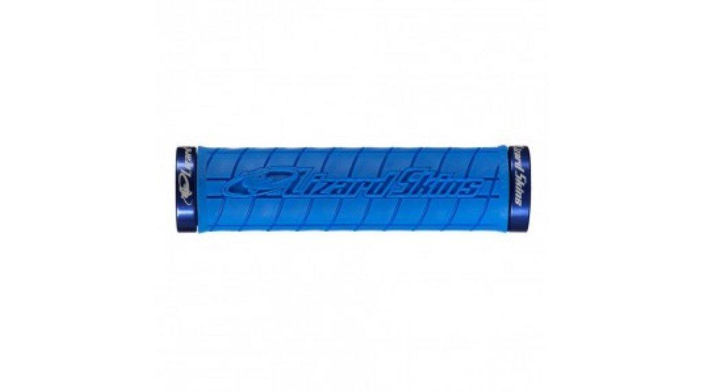Lizard Skins Logo Lock-On 把手 ice blue/blue