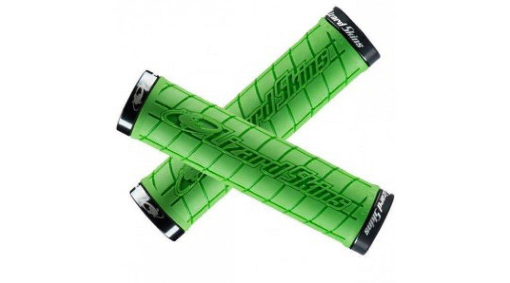 Lizard Skins Logo Lock-On Griffe 130x31.5mm green/black