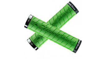 Lizard Skins Logo Lock-On 手柄 130x31.5mm green/black