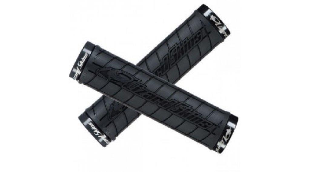 Lizard Skins Logo Lock-On 手柄 130x31.5mm black/black