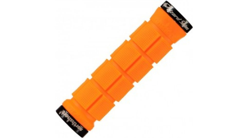 Lizard Skins Northshore Lock-On 手柄 130x33mm tangerine/black