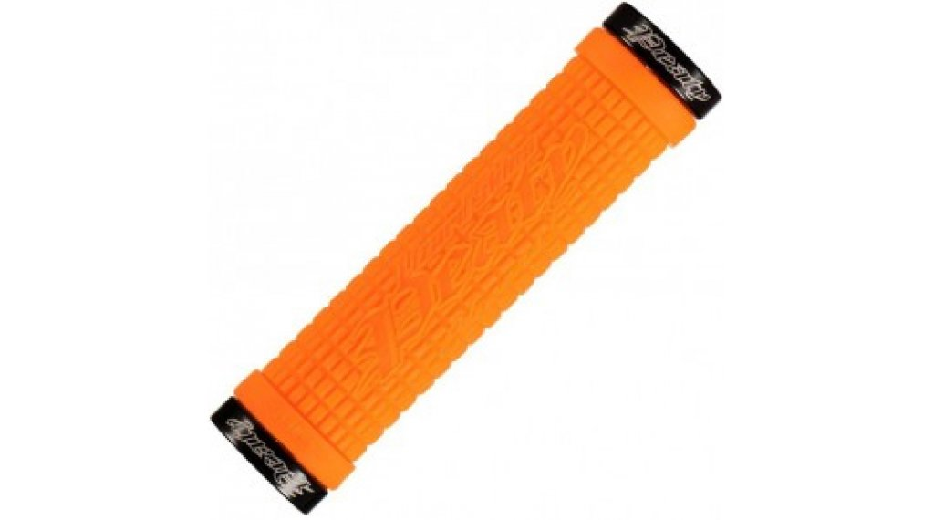 Lizard Skins Peaty Cheers Lock-On Lenkergriffe tangerine/black