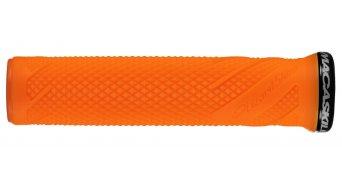 Lizard Skins Danny MacAskill Lock-On 手柄 neon 橙色