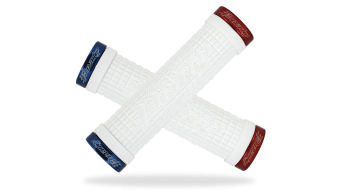 Lizard Skins Peaty Cheers Lock-On Griffe white/red/blue