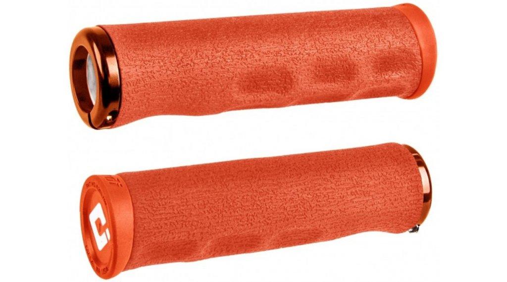 ODI F-1 Series Dread Lock Lock-On MTB-Griffe 2.1 orange