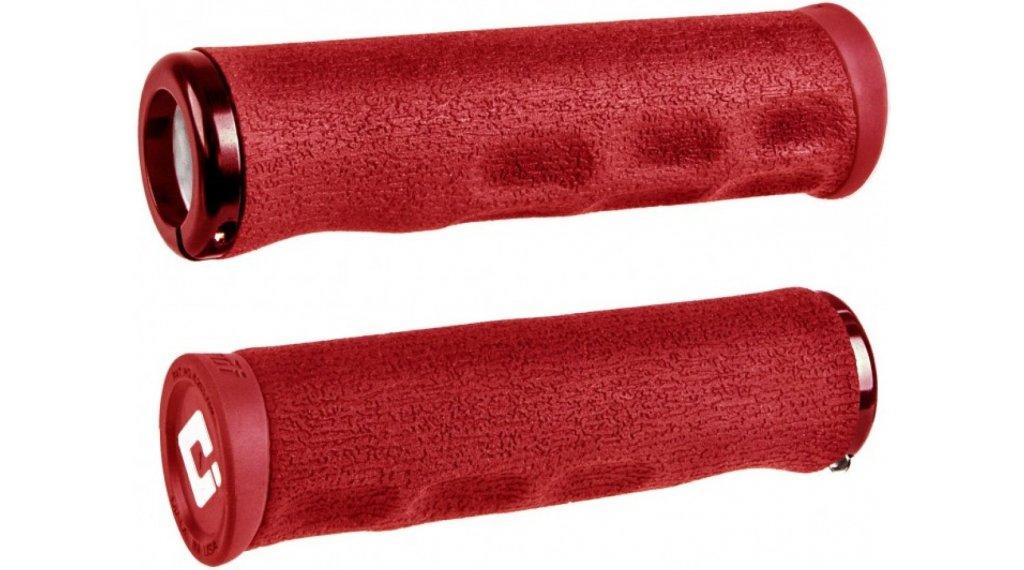 ODI F-1 Series Dread Lock Lock-On MTB-Griffe 2.1 rot