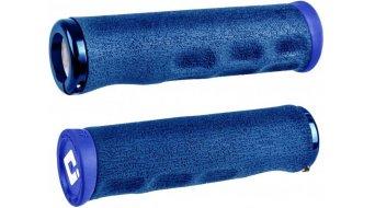 ODI F-1 Series Dread Lock Lock-On MTB-Griffe 2.1 blau