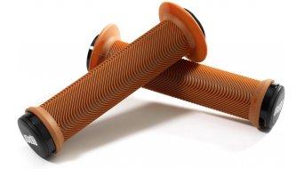 ODI Sensus The Swayze Lock-On MTB-Griffe gum/checkerboard