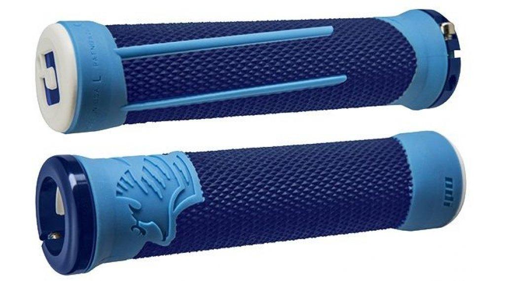ODI AG-2 Lock On 2.1 MTB-Griffe blau-hellblau/blau