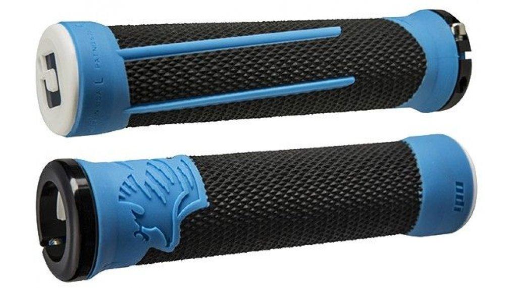 ODI AG-2 Lock On 2.1 MTB-Griffe schwarz-blau/schwarz