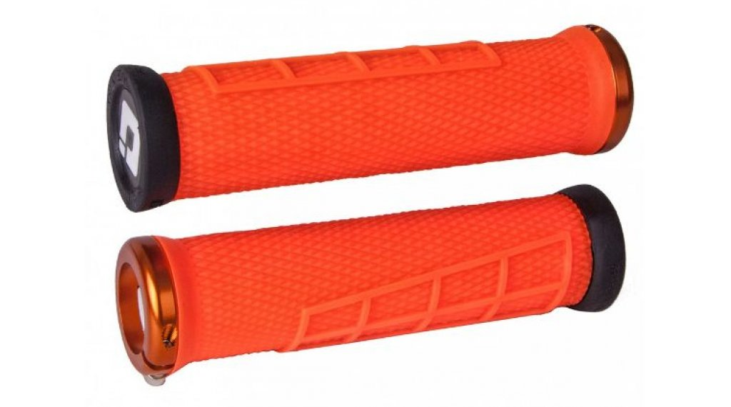 ODI Elite Flow Lock-On 2.1 MTB-Griffe orange/orange