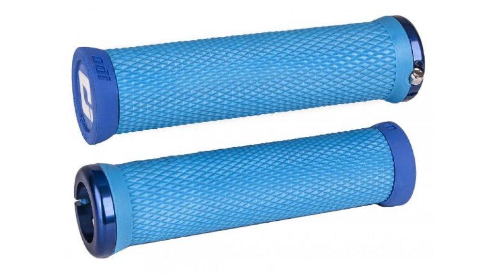 ODI Elite Motion Lock-On 2.1 MTB-Griffe hellblau/blau