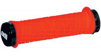 ODI Troy Lee Designs LockOn puños puños-naranja/anillos afianzadores-negro(-a)