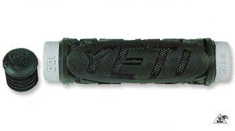 ODI Yeti Hardcore puños negro/gris 120mm, 2-componentes puño tipo Cratón