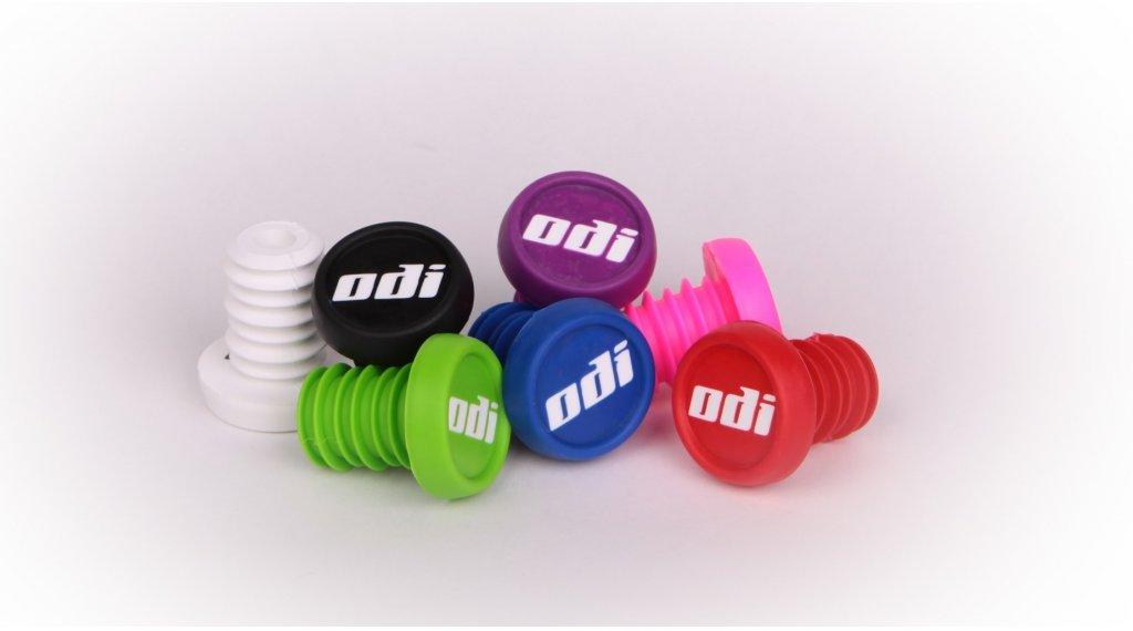 ODI Kunststoff Endkappen weiss
