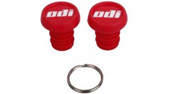 ODI Kunststoff Endkappen rot
