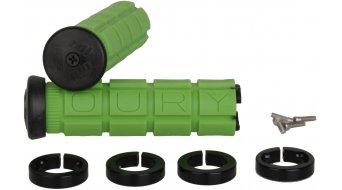 Oury Lock-On MTB Griffe 115mm grün mit schwarzen Klemmringen