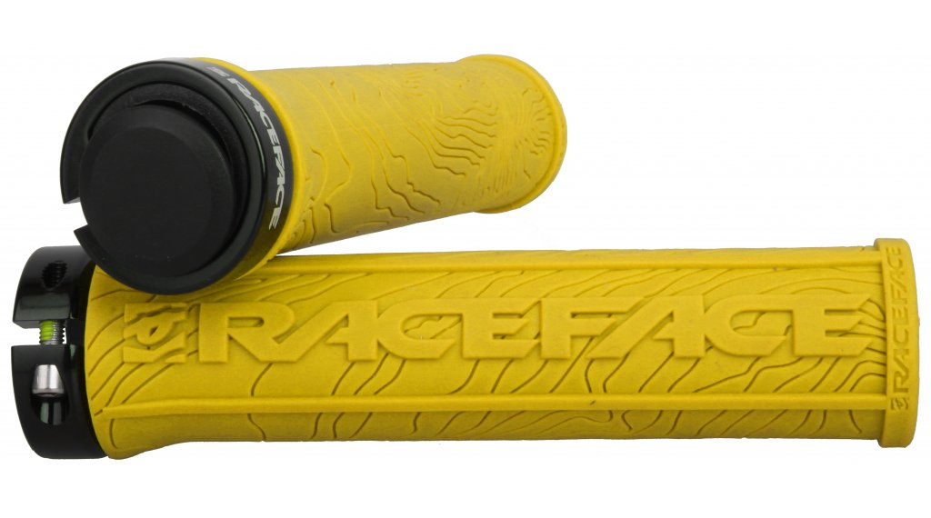 Race Face Half Nelson Lock-On 手柄 yellow