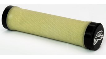 Renthal Lock-on manopole 130mm Kevlar-Grip trasparente