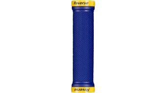 Reverse manopole LockOn (29mm diametro ) dark blue/yellow