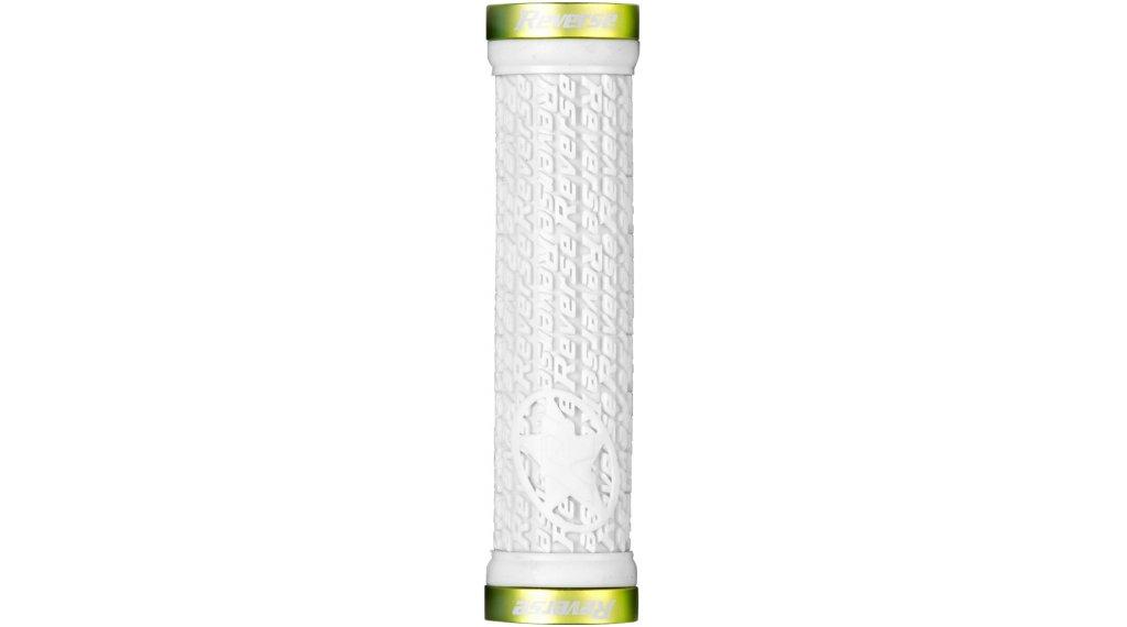 Reverse Stamp LockOn 手柄 (30mm 直径) white/applegreen