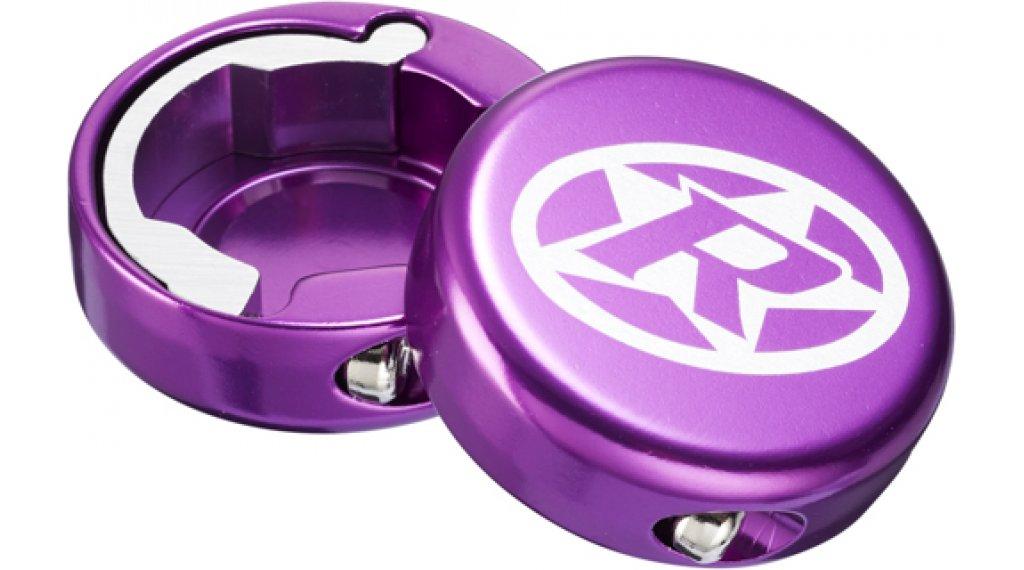 Reverse 铝 端帽 purple