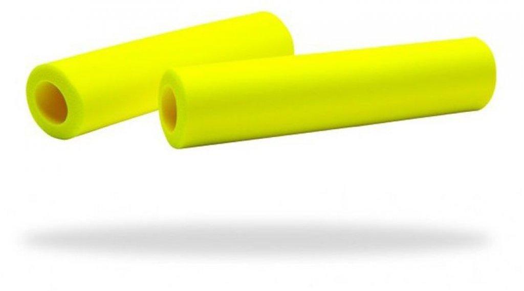 Supacaz Siliconez 手柄 neon 黄色
