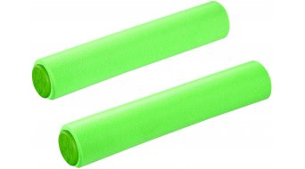 Supacaz Siliconez XL grips neon green