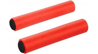 Supacaz Siliconez XL manopole neon rosso