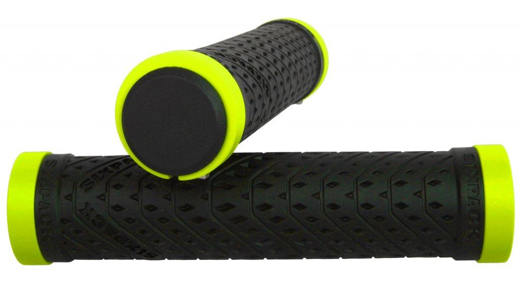 Sixpack K-Trix Lock-On Griffe black/neon-yellow