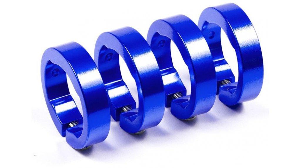 Sixpack Ersatzklemmringe blue