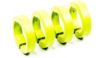 Sixpack Ersatzklemmringe neon-yellow
