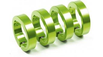 Sixpack Ersatzklemmringe electric-green